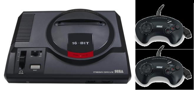 Nuevo Mega Drive