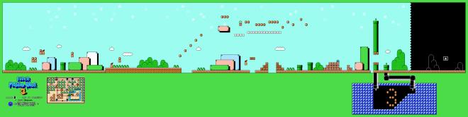 Super Mario Bros 3 World 1 Level 1